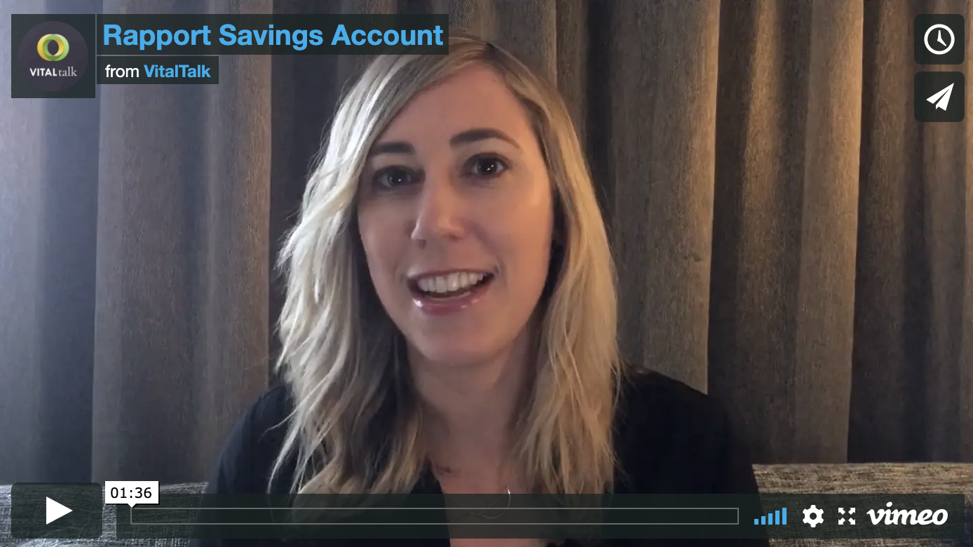 Rapport Savings Account
