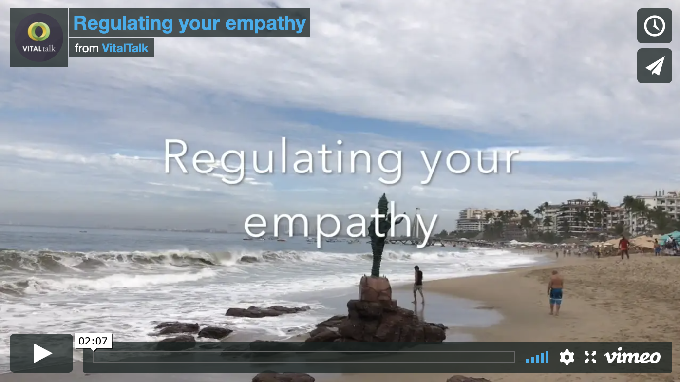 Regulating Your Empathy