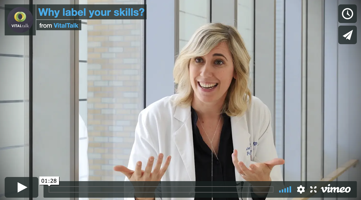Why label your skills?